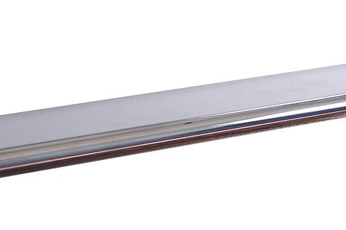 Полка в ванную со стеклом 50 см