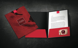 Corporate Folder & Letterhead Design