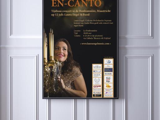 En-Canto: tijdloos concert in la Bonbonnière Maastricht op 12 juli met Laura Engel - sopraan bekend