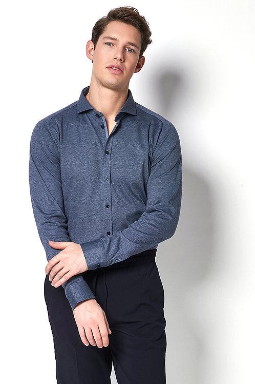 Desoto grijs/blauwe blouse 97007-3-501