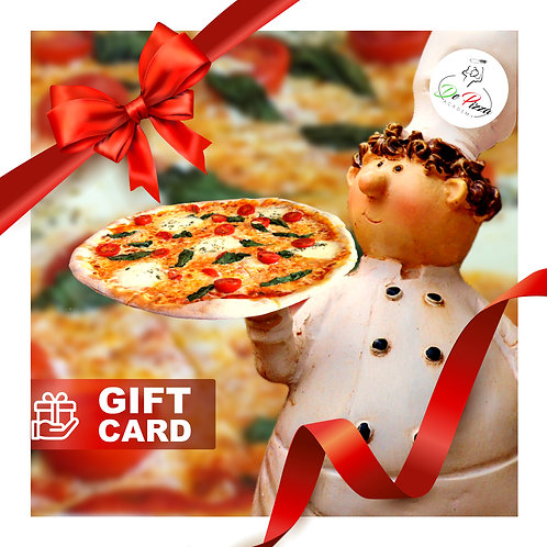 Gift card Pizzabakker in 1 dag
