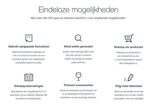 Website in Wix