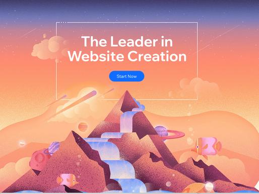 Wix, de leider in website creatie!