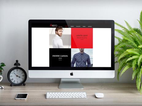Website Aristo Men's Fashion