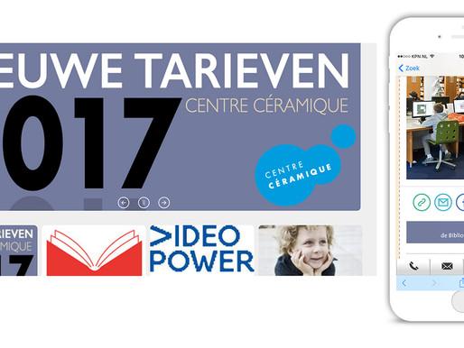 E-mailing templates Centre Céramique