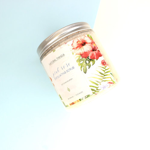 Pink Rose Exfoliating Scrub