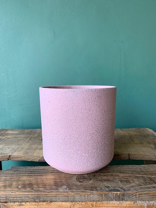 Large pink pot
