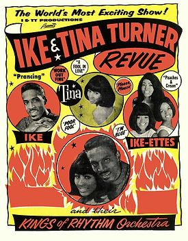 Ike & Tina Turner Advertising Poster, 19