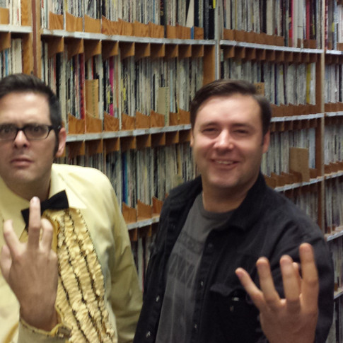 Luke & Mike from the Hypnotic Devices - Fundrive 2014
