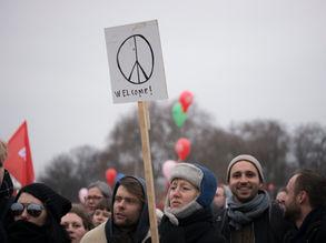 Demonstration, Berlin