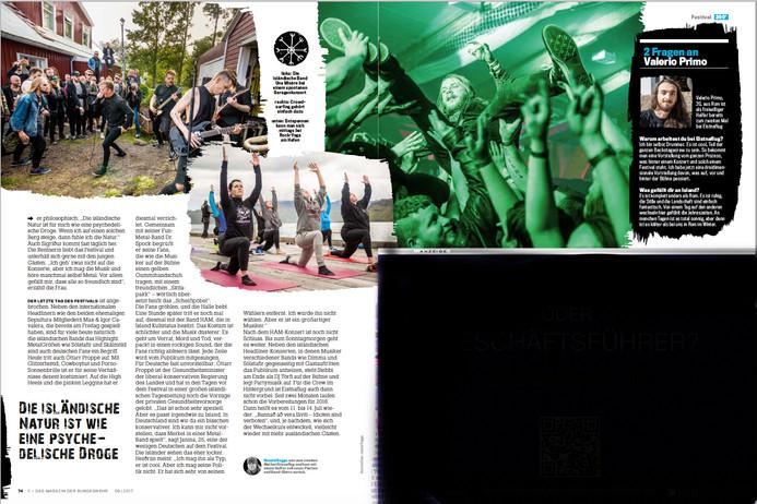Eistnaflug für Y-Magazin 09/18