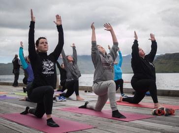 Yoga@Eistnaflug