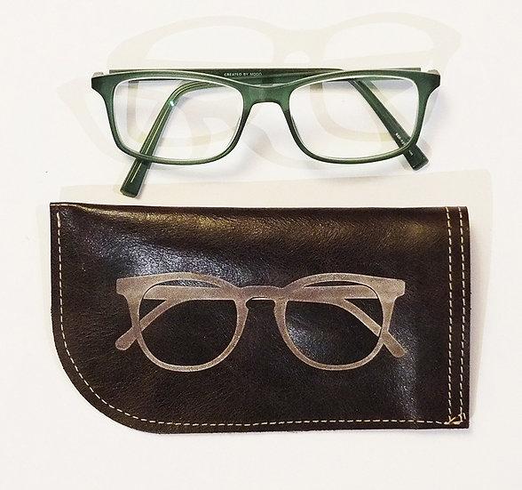 Brillenetui aus Leder