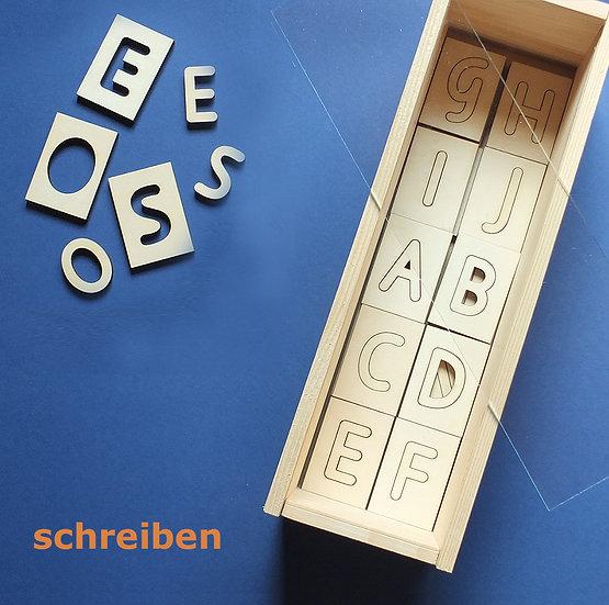 Buchstaben-Set