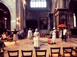 Performance église Saint Merry
