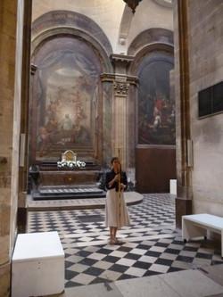 Performance église Saint Merr