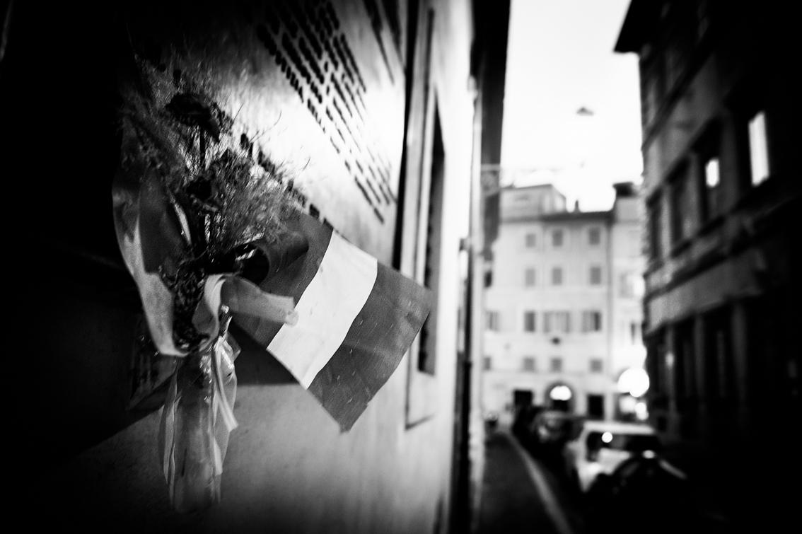 Scorcio di via Caetani 2011