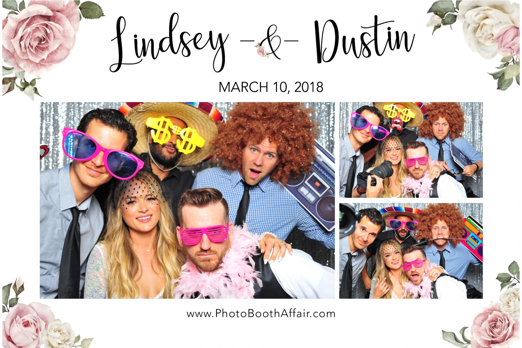 Dustin + Lindsey - Prints - Photo Booth Affair 30