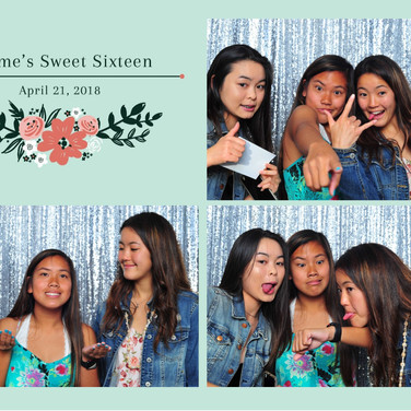 Jaymes Sweet 16  - Prints - Photo Booth
