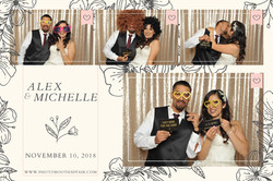 Alex + Michelle - Prints - Photo Booth A