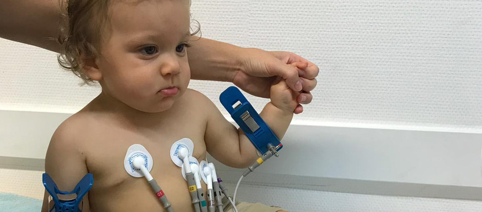 EKG beim Säugling