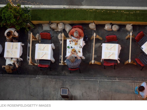What happens when we can't dine outside anymore?