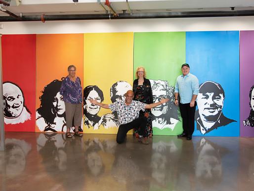 MIAMI ART ZINE COVERS OPENING OF AXS ART PRIDE EXHIBIT