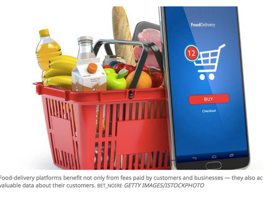 Customer data is the hidden value in food-delivery transactions