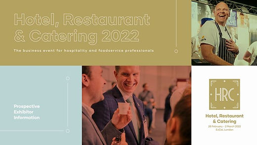 Hotel, Restaurant and Catering, London 2022
