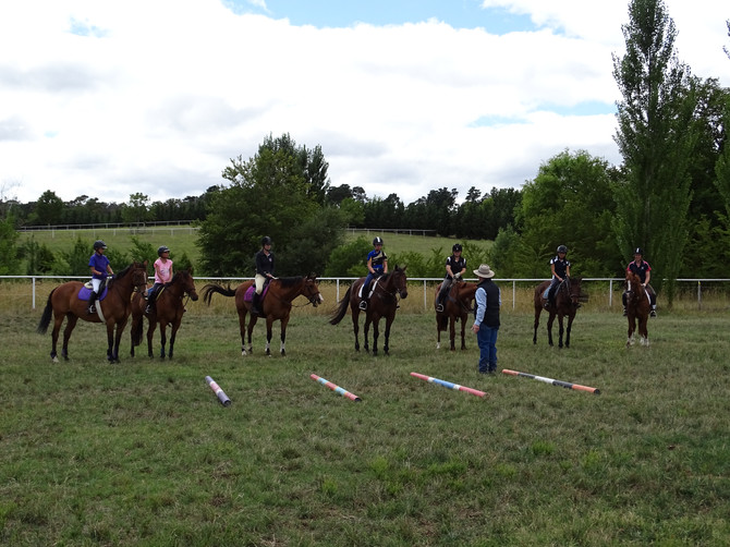 Grant Hughes Showjumping Clinic 2016
