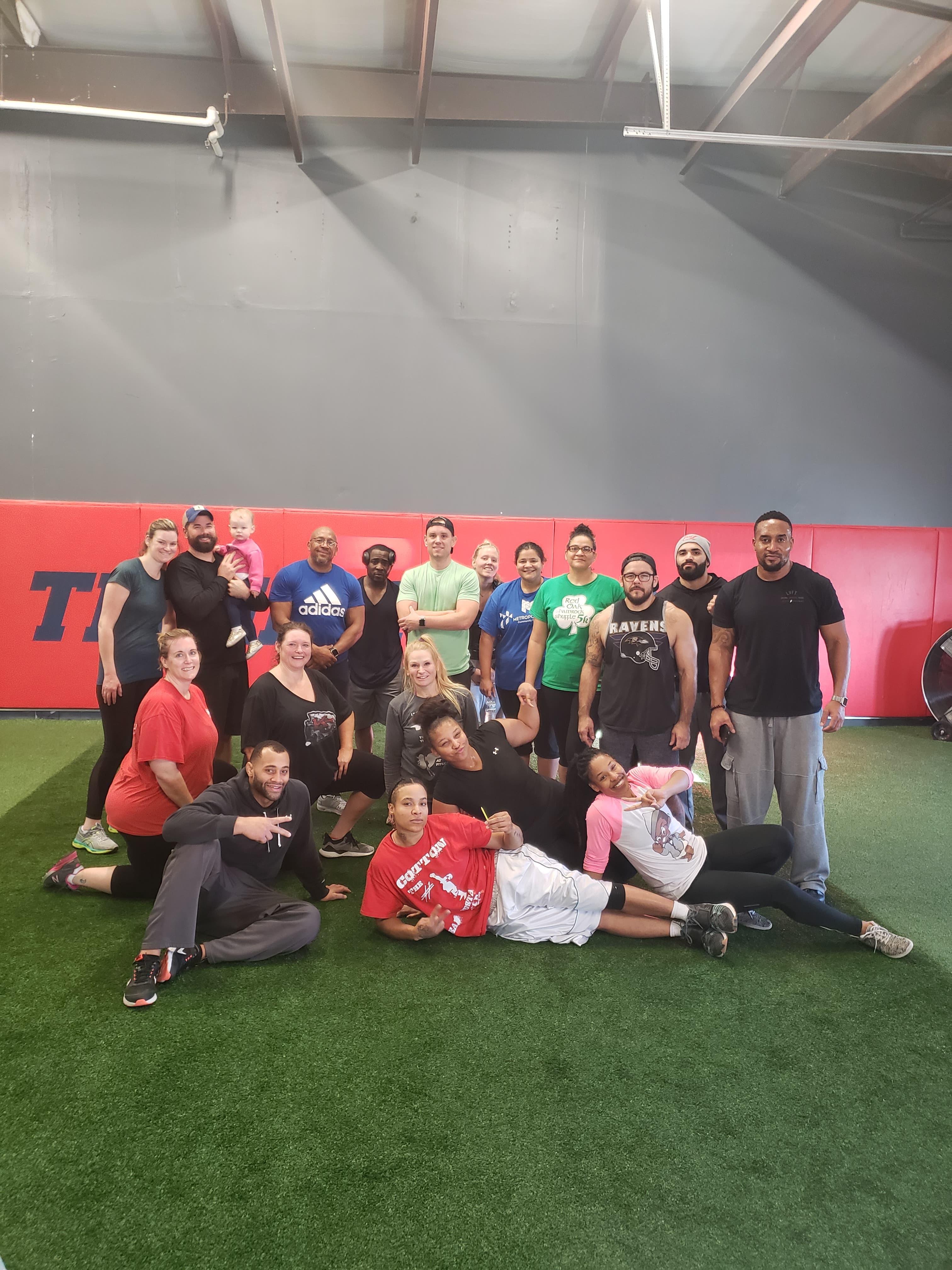 Teamfit Class Non-Member Sign Up
