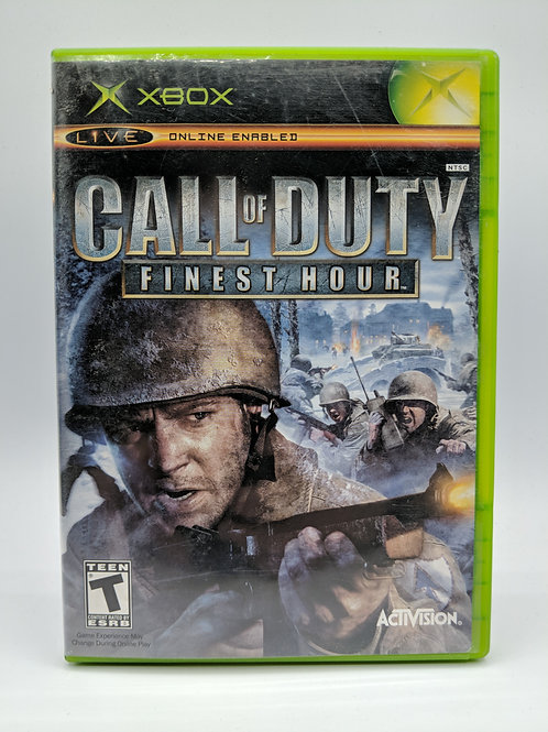 Call Of Duty : Finest Hour - XBX