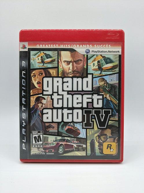 Grand Theft Auto IV – PS3