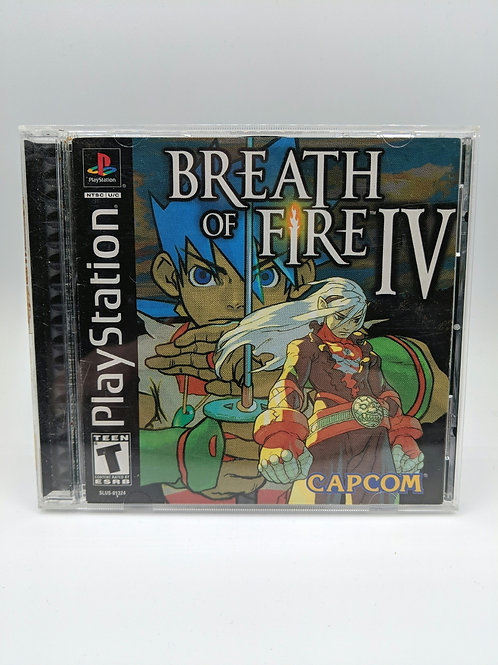 Breath Of Fire IV – PS1