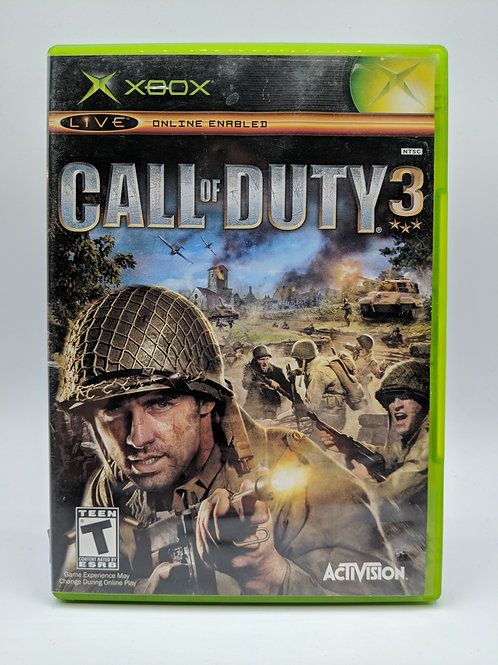 Call of Duty 3 - XBX