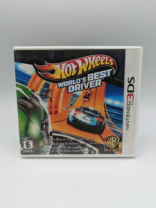 Hot Wheels : World's Best Driver - 3DS