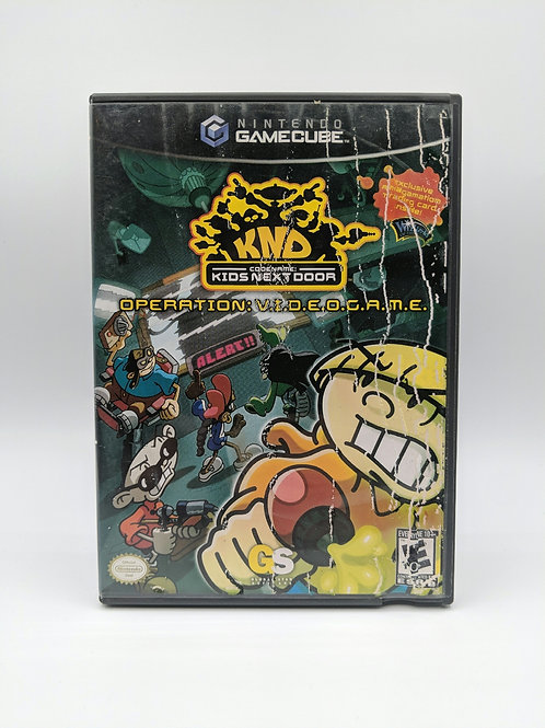 Codename : Kids Next Door - Operation : V.I.D.E.O.G.A.M.E. – NGC