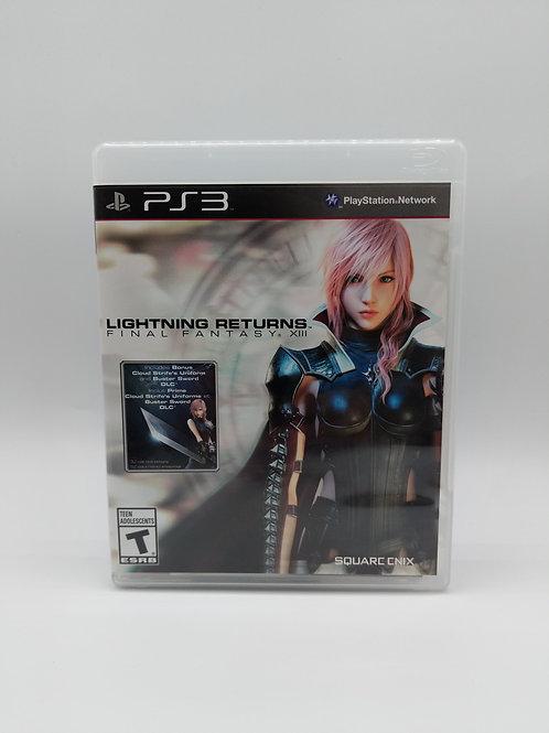 Final Fantasy XIII Lightning Returns – PS3