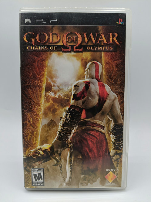 God of War Chains of Olympus – PSP