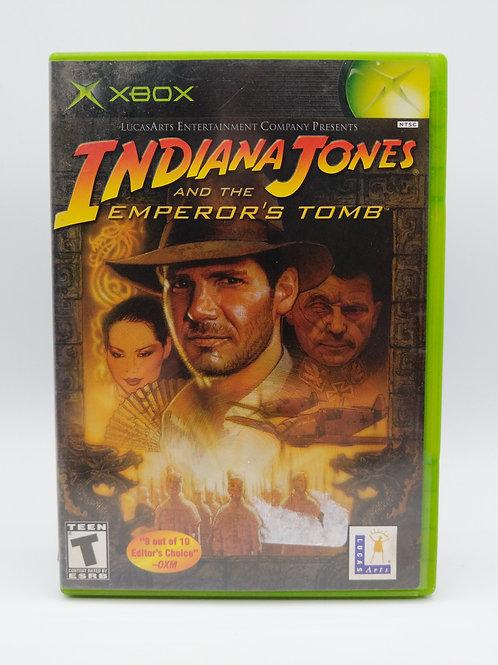 Indiana Jones And The Emperor's Tomb - XBX