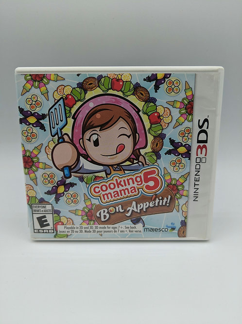 Cooking Mama 5 Bon Appetit – 3DS