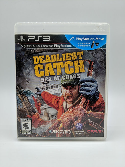 Deadliest Catch : Sea of Chaos – PS3