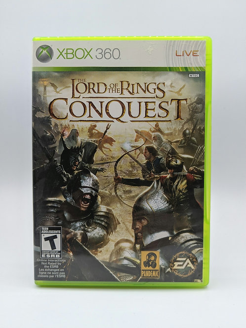 Lord of the Rings : Conquest – 360