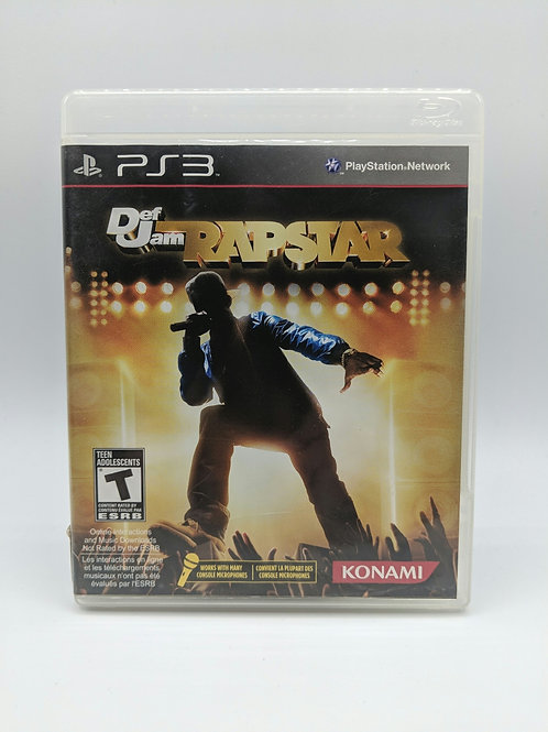 Def Jam Rapstar – PS3