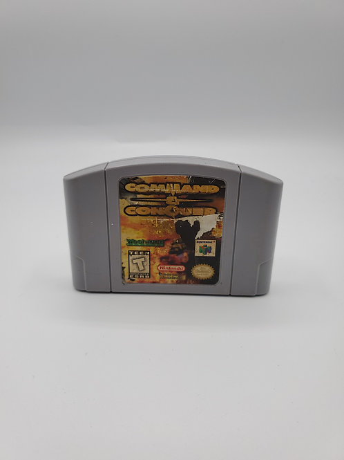 Command & Conquer – N64