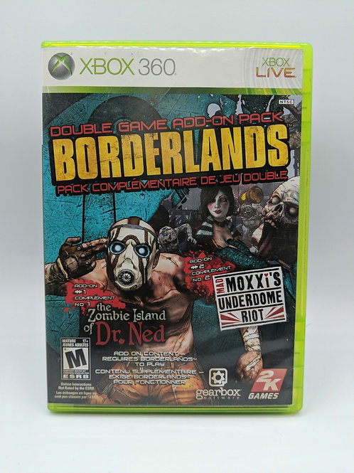 Borderlands : Zombie Island of Dr Ned Mad Moxxi's Underdome – 360