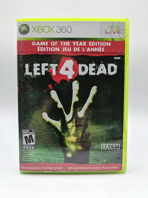 Left 4 Dead Game of the Year Edition – 360