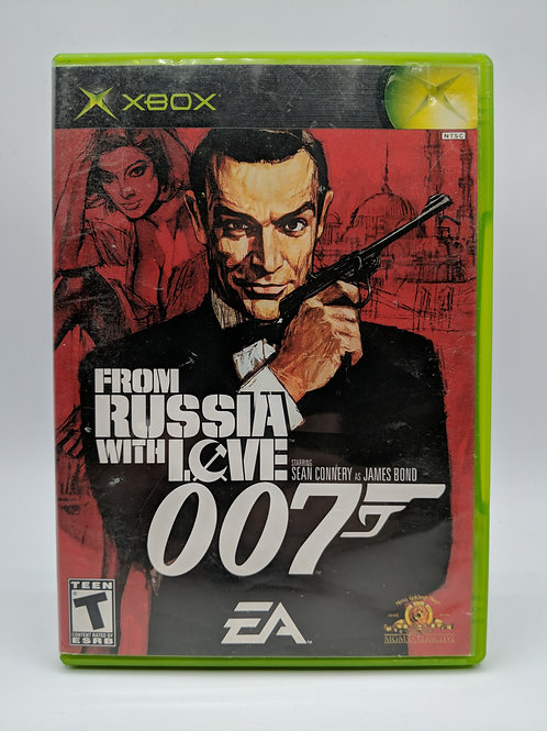 007 From Russia With Love - XBX