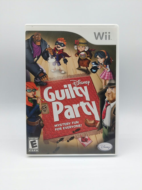 Disney Guilty Party – Wii