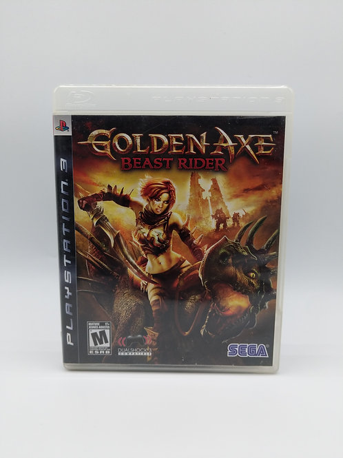 Golden Axe Beast Rider – PS3